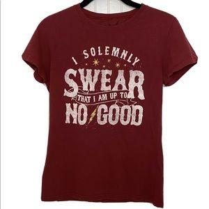 Harry Potter Short Sleeve T-shirt Size Medium